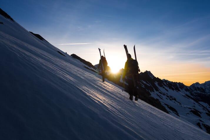 Skitour Uristier Highlights