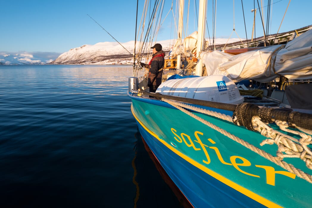 Ski & Sail mit der Segelyacht Safier