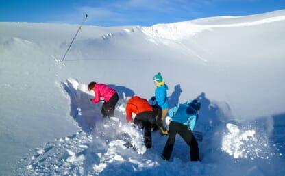 Aufbaukurs Lawinen Lidernen Ski/Board