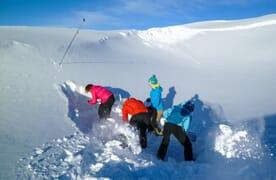 Aufbaukurs Lawinen am Furkapass Ski/Board 4+1