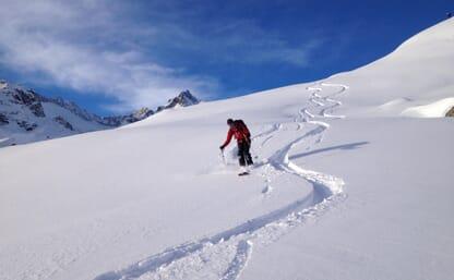 Schnupperskitouren ab Lidernenhütte SAC