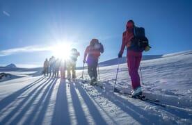Grundkurs Skitouren Lämmerenhütte