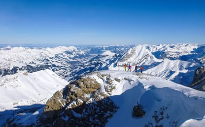 Skitouren-Trainingswoche am Gemmipass
