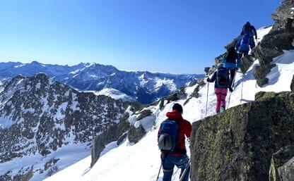 Skitour Piz Borel - Badus
