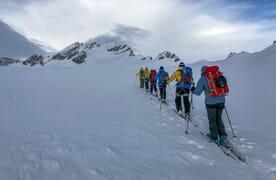 Skitour Gemsfairen und Clariden