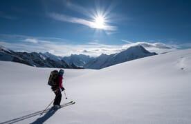 Skitour Jungfraujoch–Goms