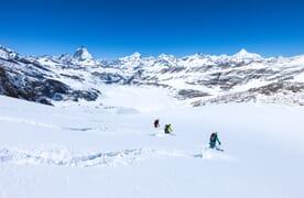 Skitour Breithorn und Cima di Jazzi