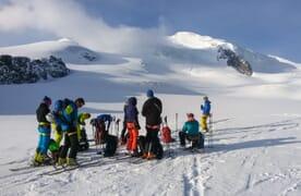 Skitour Allalinhorn–Strahlhorn