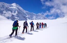 Skitour Äbeni Flue 3962m–Lötschenlücke
