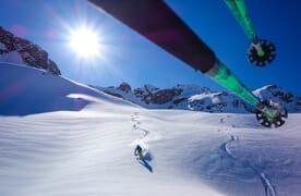 Skitour vom Flüelapass zum Piz Sarsura