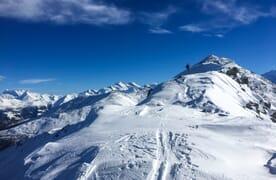 Skitour bei Unterbäch im Wallis