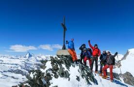 Skitour Allalinhorn-Alphubel
