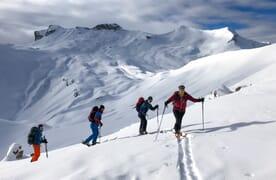 Skitour auf die Schwalmere 2777m