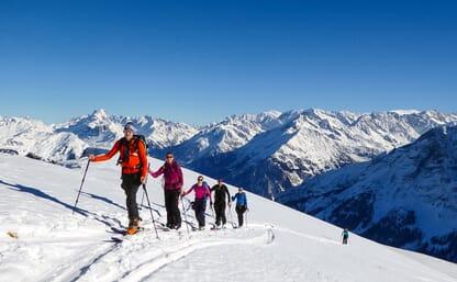 Skitouren Grindelgrat & Wildgärst, 2890m (Ski/Board) 4+1