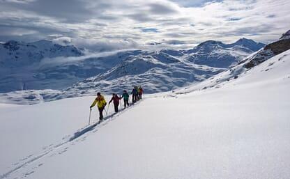 Skitouren im Averstal 4+1