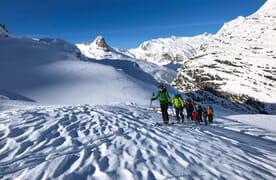 Skitouren und Wellness in Vals