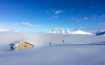 Skitouren ab Curaglia bei Disentis (Ski/Board)