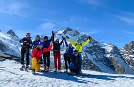 Skitouren Engadin–Berninapass