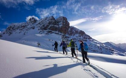 Skitouren in Bivio am Julierpass