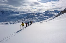 Skitouren im Averstal