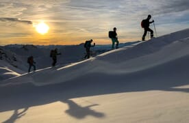 Skitouren in St. Antönien