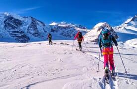 Skitouren rund um den Berninapass
