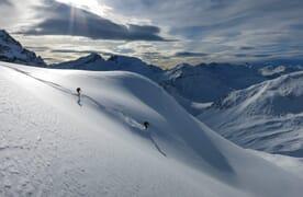 Skitouren Jenatschhütte