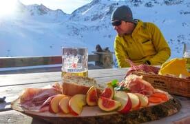 Skitouren Jenatschhütte 4+1