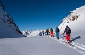 Skitouren rund um die Trifthütte