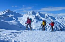 Skitouren in Monstein bei Davos (Ski/Board) 4+1