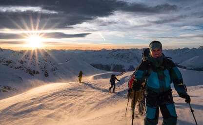 Grosse Haute Route Graubünden