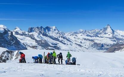 5x 4000: Skitouren Monte Rosa