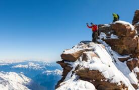 Skitour Dufourspitze 4634m