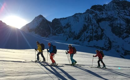Skitour Haute Route Berner Oberland