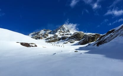 Skitouren Bernina Süd - Rifugio Marinelli