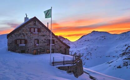 Schneeschuhtour Rotondohütte