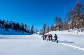 Schneeschuhtour im Valle Bedretto
