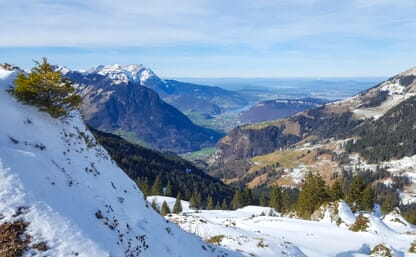 Schneeschuhtouren vor den Toren Luzerns