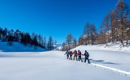 Schneeschuhtour im Valle Bedretto 4+1