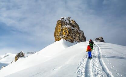 Schneeschuhtour zu den Lobhörnern 4+1