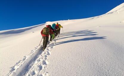 Schneeschuhtouren vor den Toren Luzerns 4+1