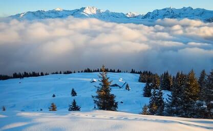 Schneeschuhtour in der Surselva 4+1