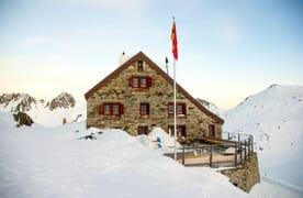 Schneeschuhtour Rotondohütte 4+1
