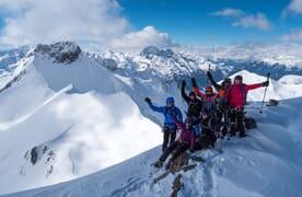 NEU: Schneeschuhtour Piz Pischa 3173m