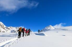 Schneeschuhtouren am Furkapass