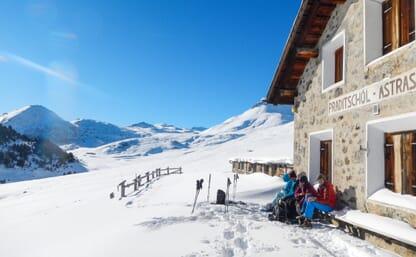 Schneeschuhtouren Val S-Charl 4+1