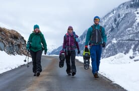 Schneeschuhtouren ab Curaglia bei Disentis
