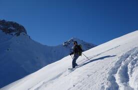 Schneeschuhtouren und Wellness in Vals Spezial
