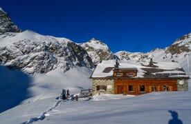 Schneeschuhtouren Jenatschhütte 4+1