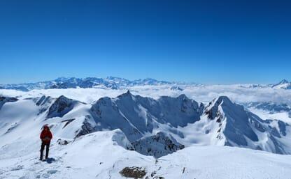 Schneeschuhtouren Blinnenhorn 3374m